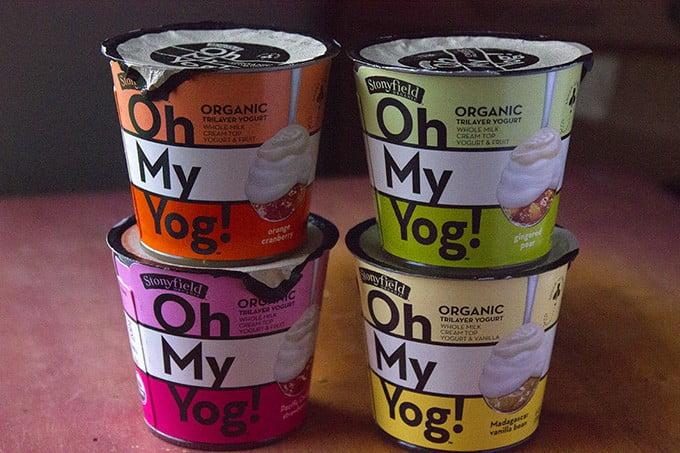 Moving, PrAna, & Oh My Yog! by Stonyfield Yogurt