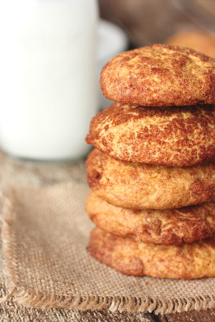 Pumpkin Snickerdoodle Cookies