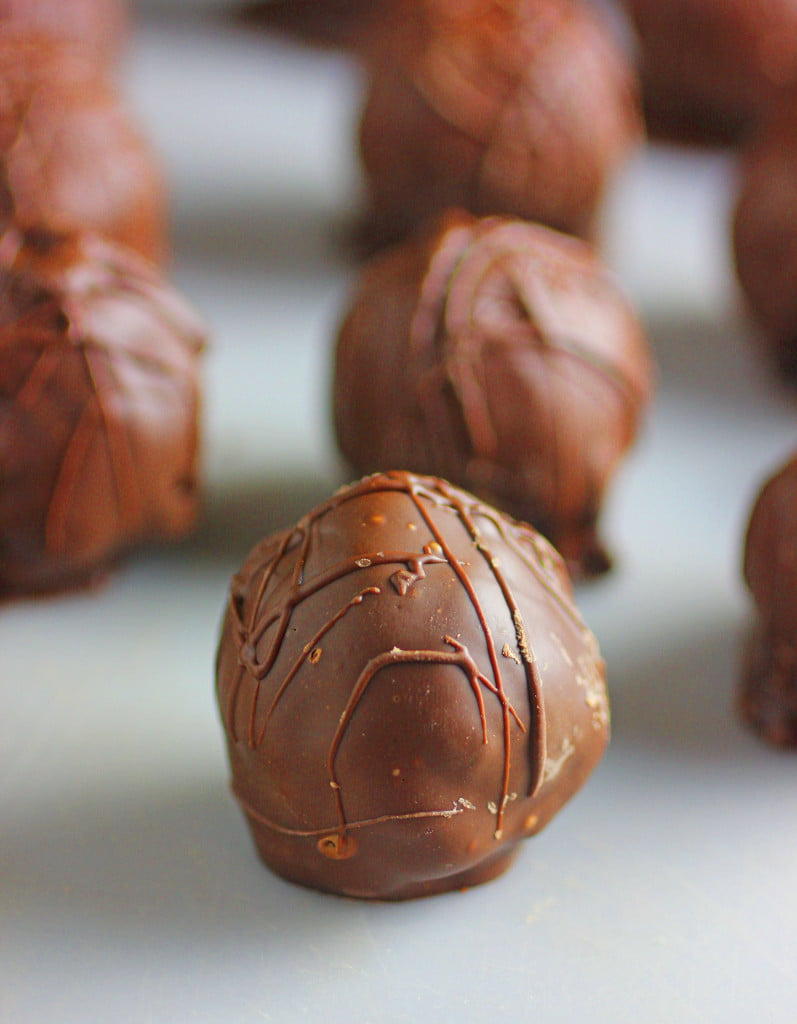 Double Chocolate Brownie Truffles