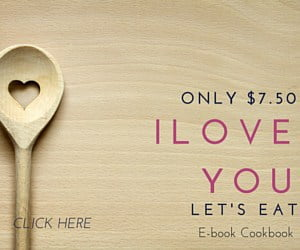 I Love You…Let's Eat Cookbook!