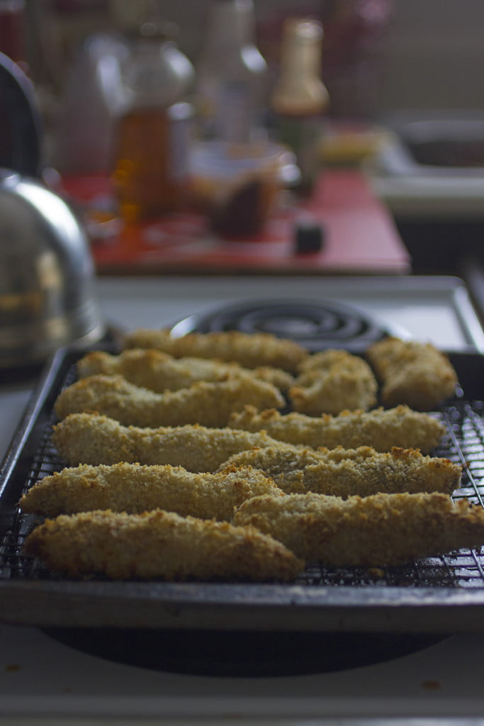Honey Chipotle Chicken Tenders