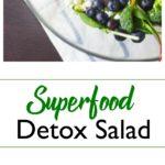 Superfood Detox Salad pin