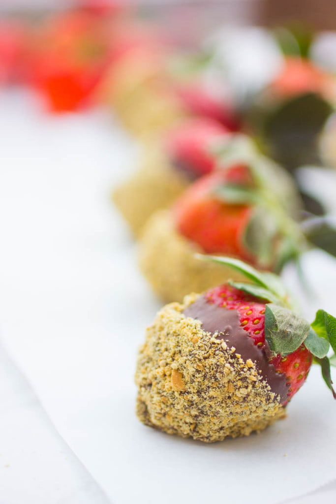 How to Make Chocolate Covered Strawberries with Cheesecake Filling
