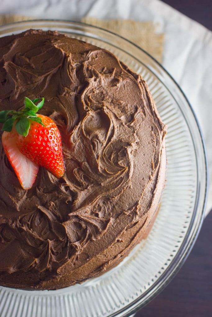 Dark Chocolate Cake Recipe