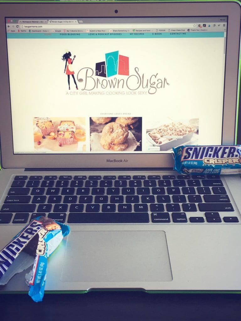 Blogging Woes & Snickers Crisp Bar