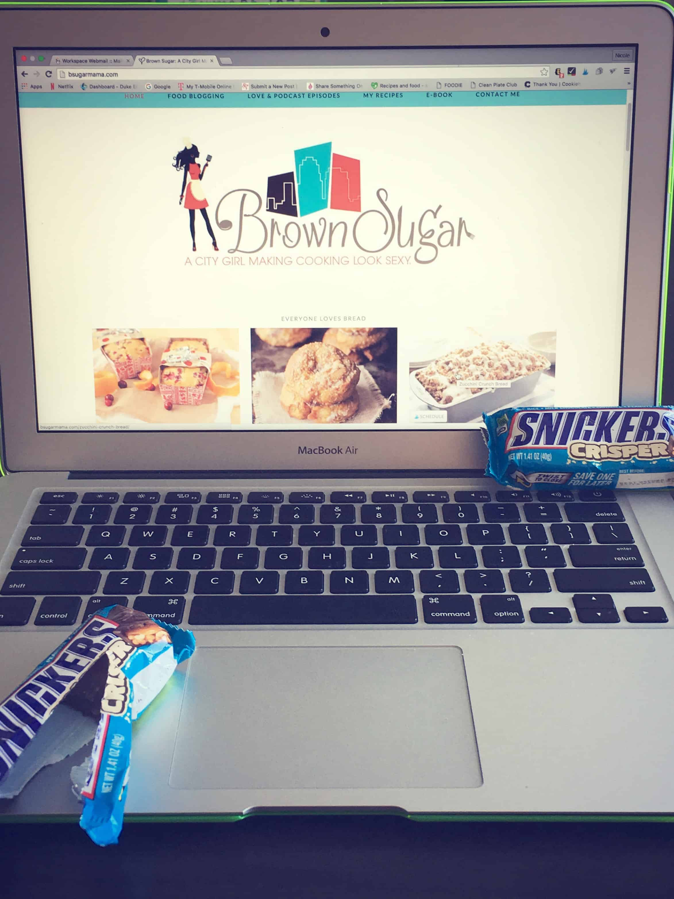 Blogging Woes & Snickers Crisp Bar