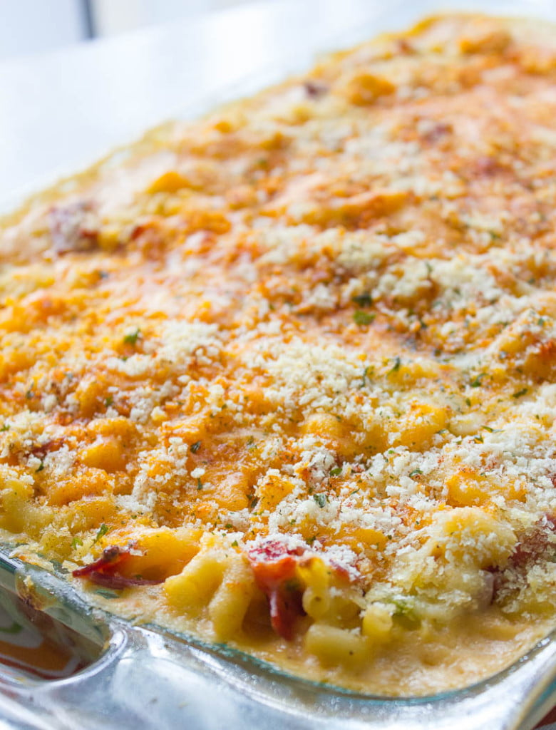 Loaded Baked Macaroni and Cheese | Brown Sugar