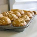 Healthy Banana Nut Muffins