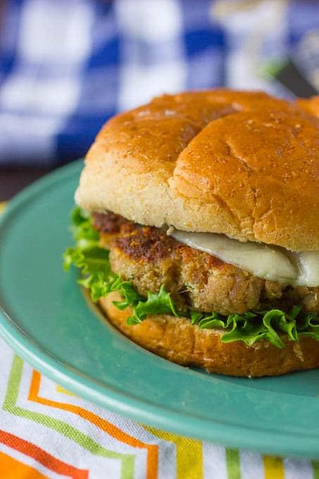 Parmesan and Herb Turkey Burgers