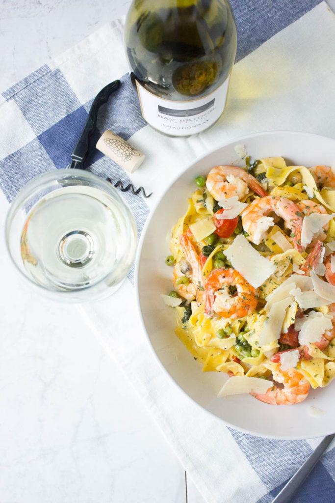 Spring Shrimp Pasta