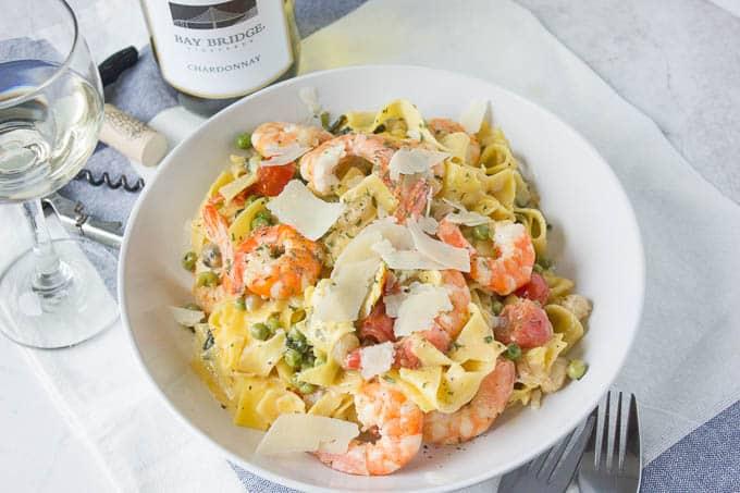 Spring Shrimp Pasta Recipe