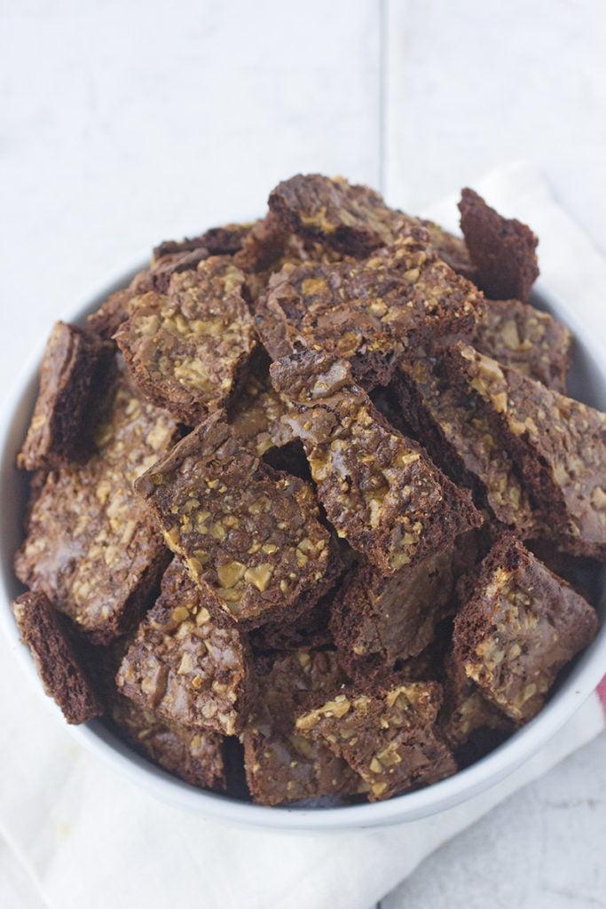 Toffee Brownie Crisps