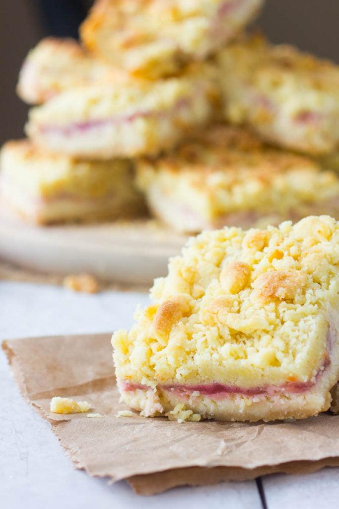 Lemon Raspberry Cheesecake Bars