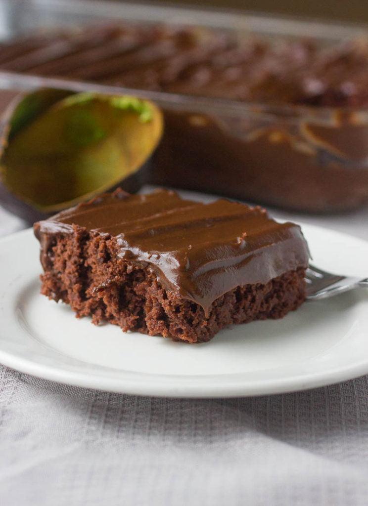 Chocolate Avocado Frosting