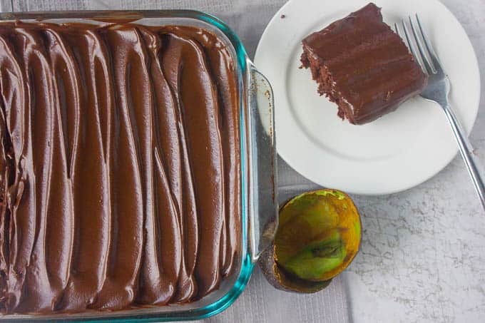 Chocolate Avocado Frosting Recipe