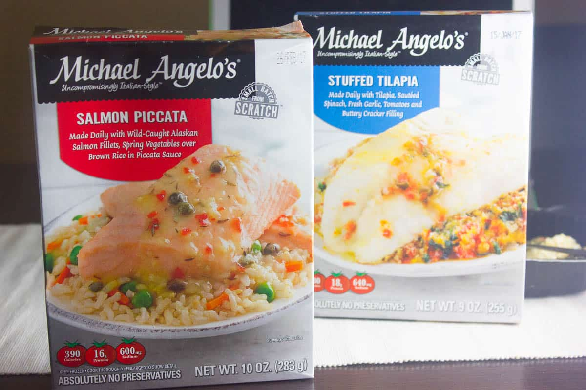 I'm Loving Michael Angelo's Seafood Dinners
