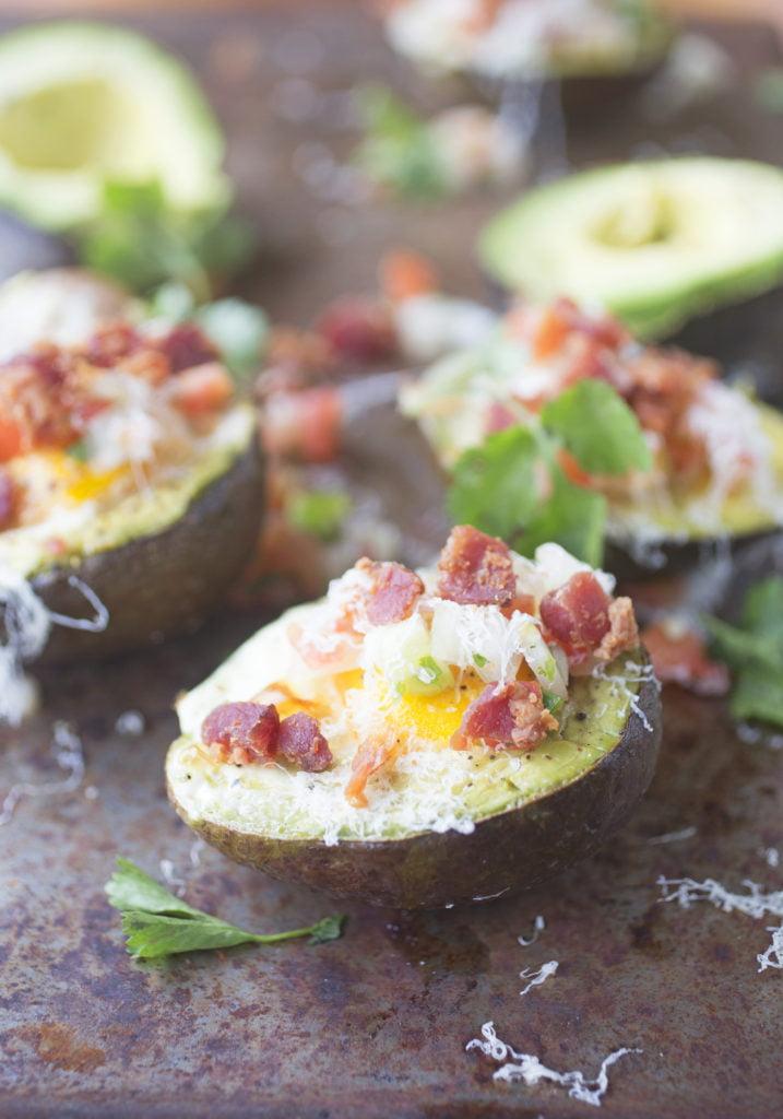 Mexican Eggs in Avocado