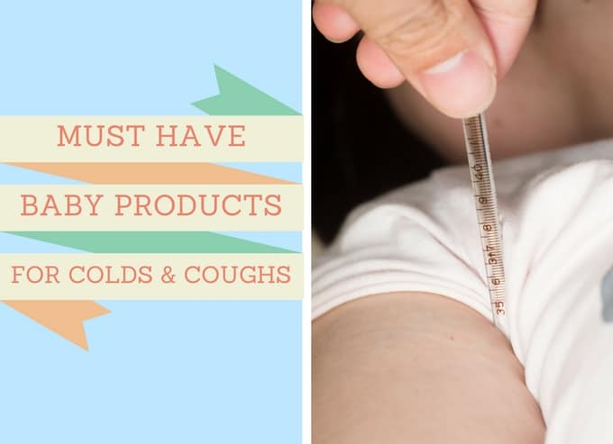 Must-Have Baby Products for Colds and Coughs