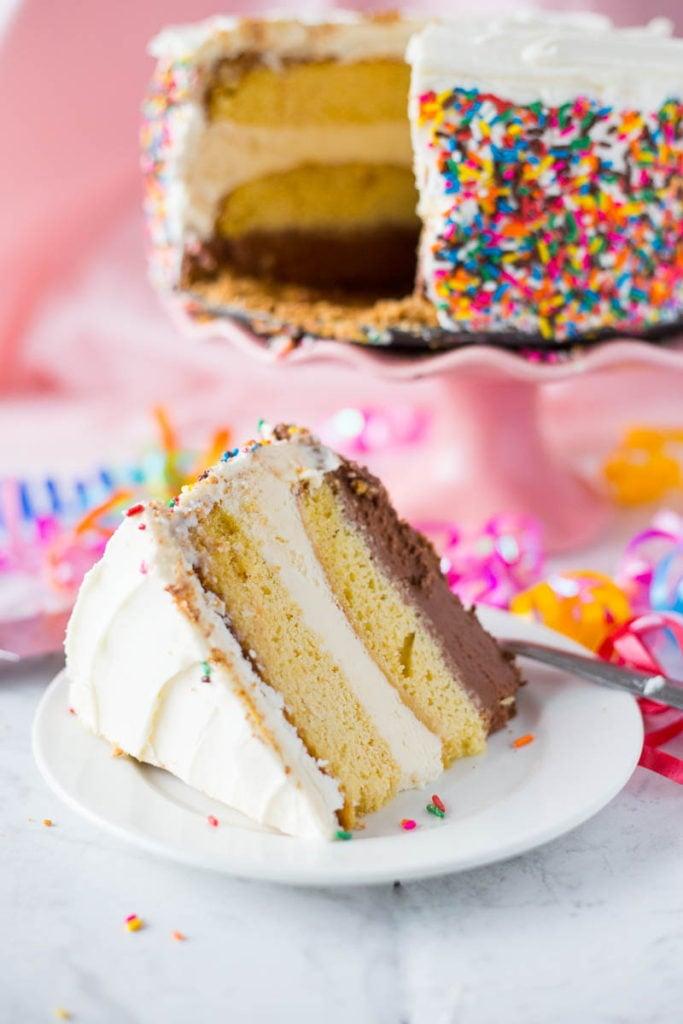 Birthday Ice Cream Cake recipe