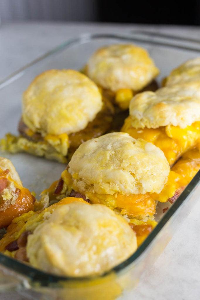 Easy Biscuit Breakfast Sandwiches