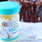 jar of Chosen Foods Mayo-The Best Chocolate Cake Recipe EVER
