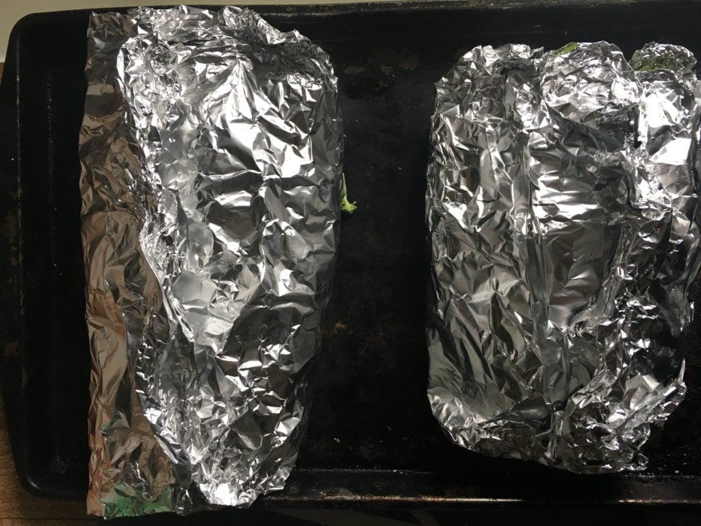 Steak and Potato Foil Packets Dinner