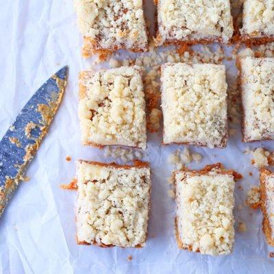 Salted Caramel Sugar Cookie Bars Recipe