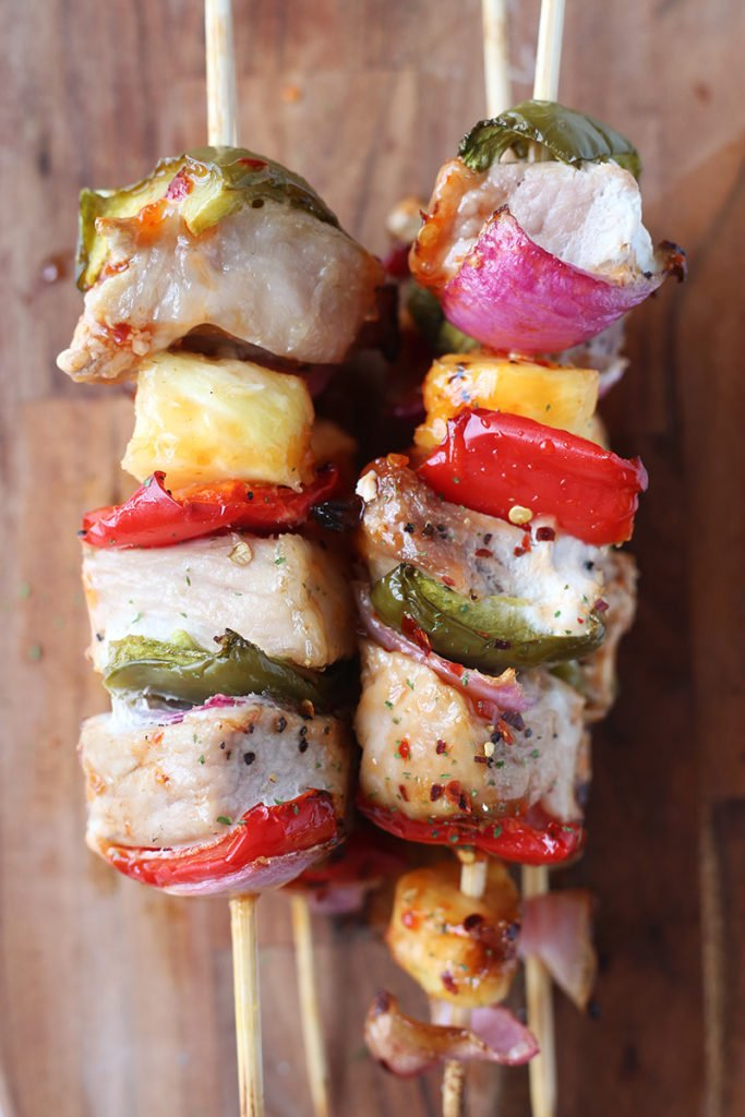 Sweet Chili Pork Shis-Kabobs