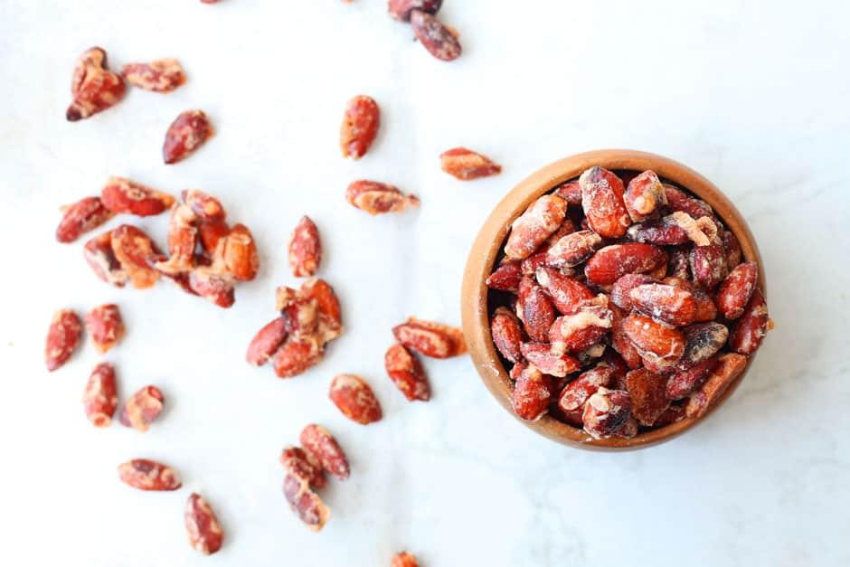 Bourbon Pumpkin Candied Almond Recipe