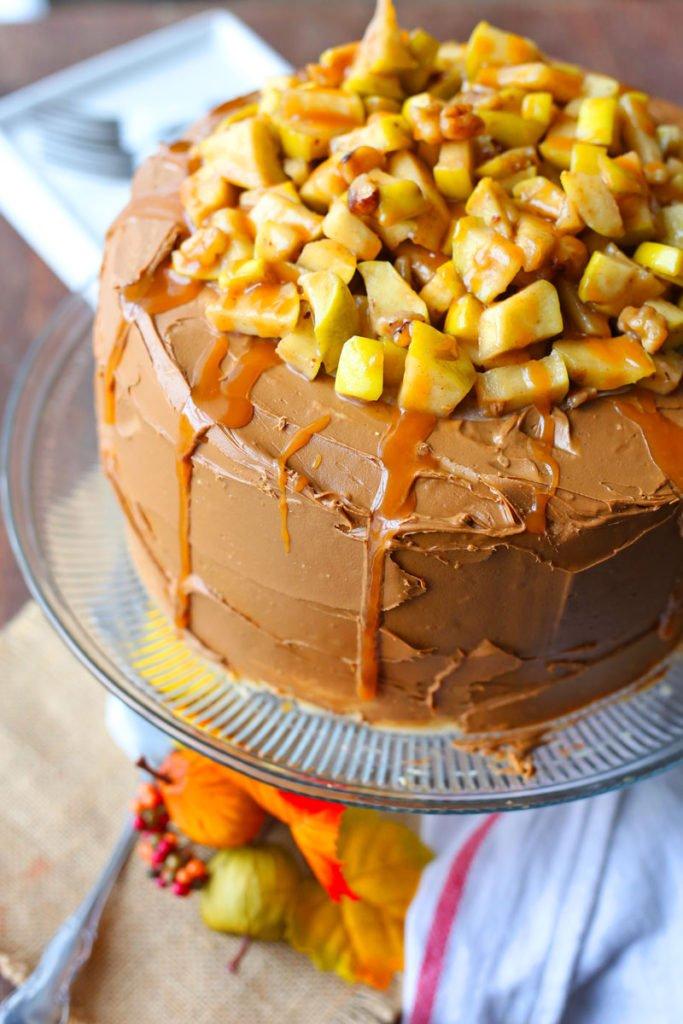 Caramel Apple Cake Recipe
