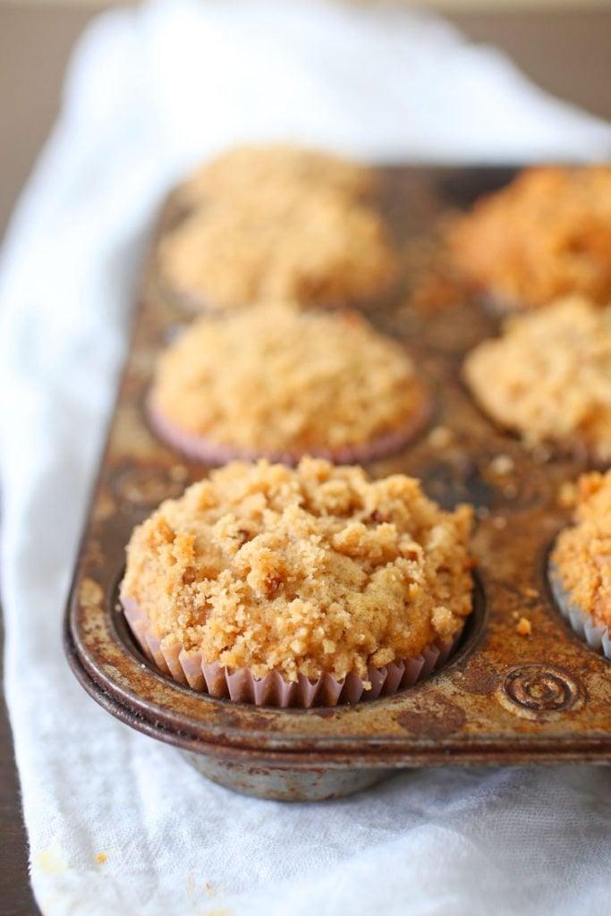 Crumb Apple Cinnamon Muffins Recipe