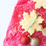 christmas cookies with ornaments