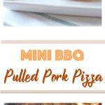 Mini BBQ Pulled Pork Pizza Long Pin