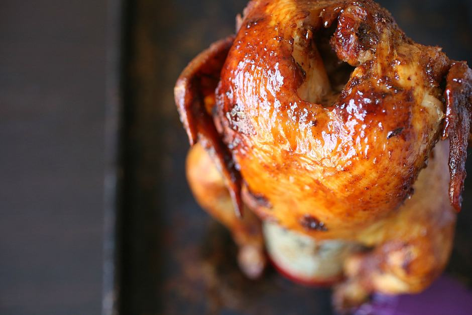 The Best Beer Can Chicken Recipe made for grilling