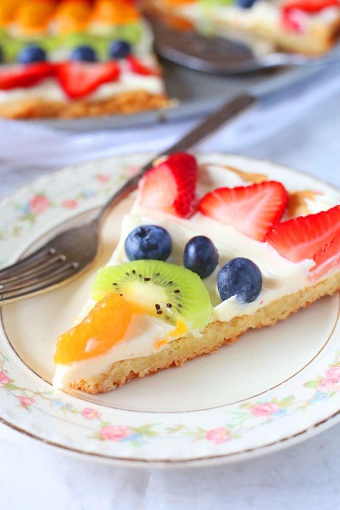 Sugar Cookie Fruit Pizza Recipe