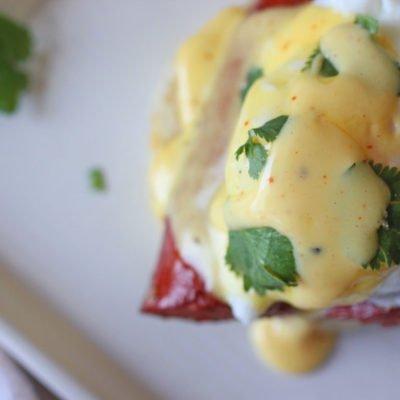 Easy Cajun Eggs Benedict Recipe