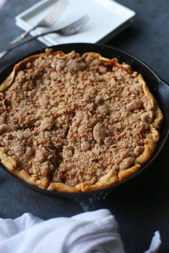 Skilet Dutch Apple Pie Recipe