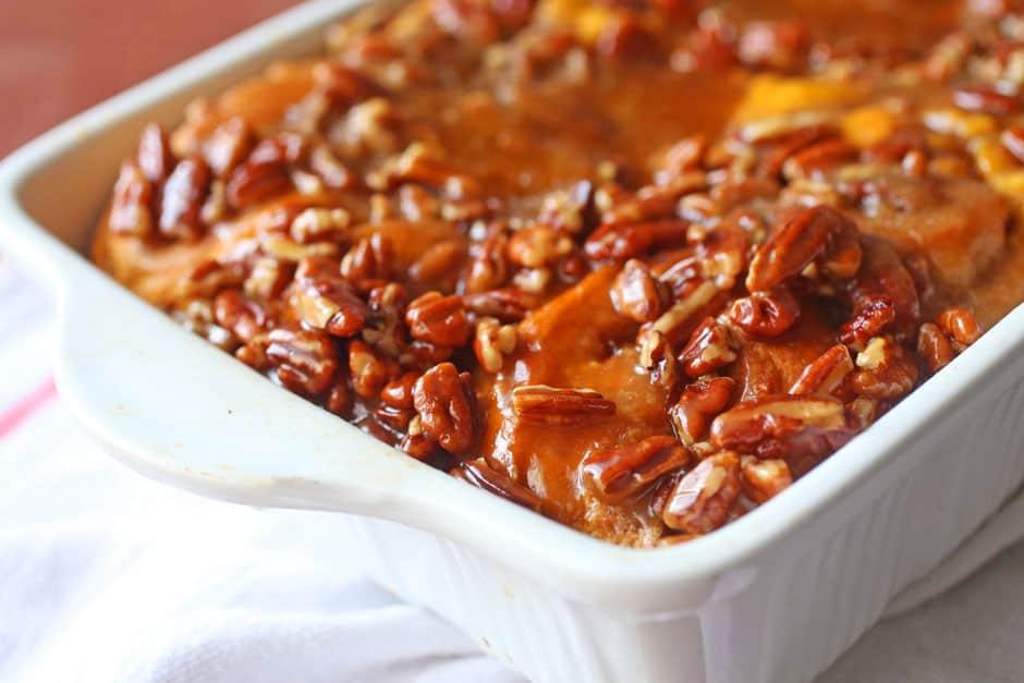 Pumpkin Sticky Buns Recipe