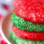 a stack of Christmas Butter Cookies