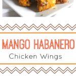 Mango Habanero Chicken Wings pin