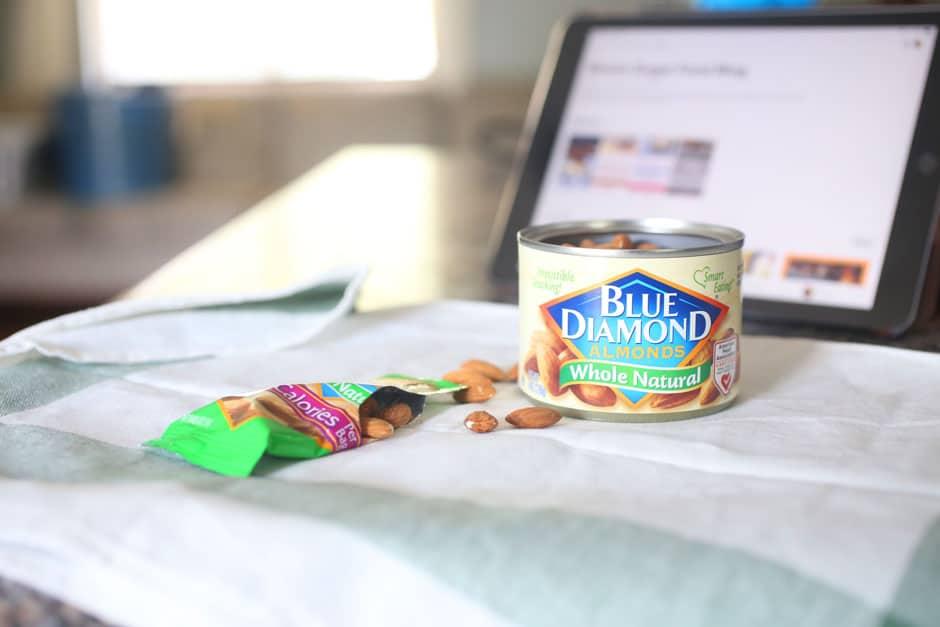 Blue Almond Diamonds
