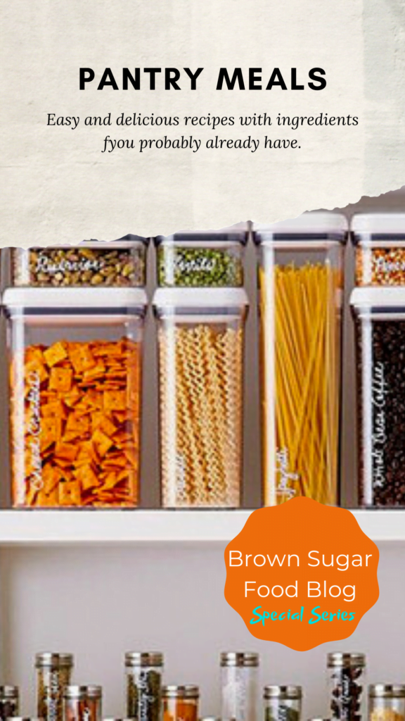 10 Pantry Meals for your Family