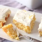 Pineapple Sheet Cake with Cake Mix