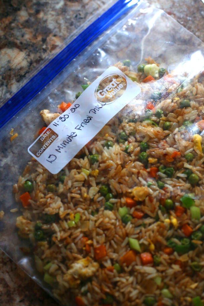 15 Minute Fried Rice Recipe