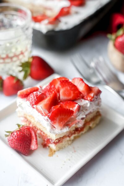 Strawberry Moscato Tiramisu