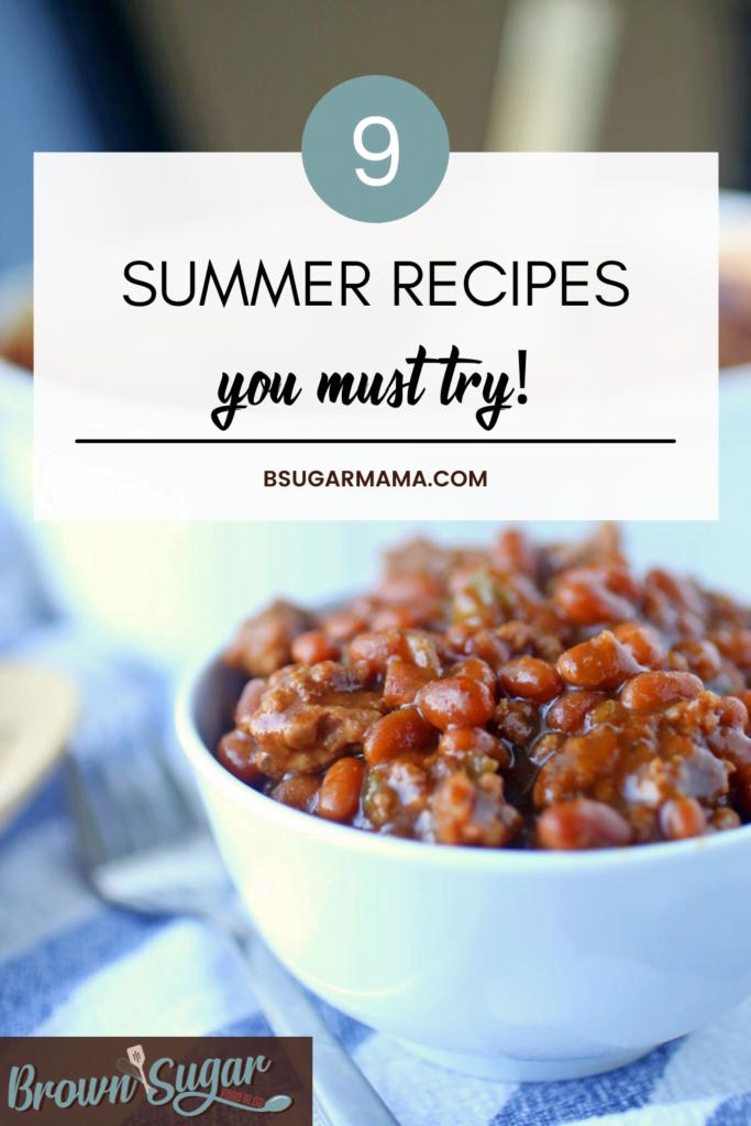 9 summer recipes you must try, bsugarmama.com