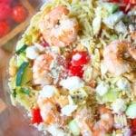 Shrimp Orzo Pasta Salad