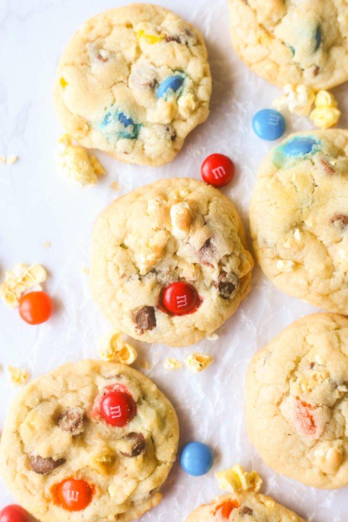 Movie Theatre Popcorn Cookies