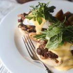 Philly Cheese Steak and Eggs Benedict