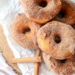 Cinnamon Sugar Biscuit Donuts